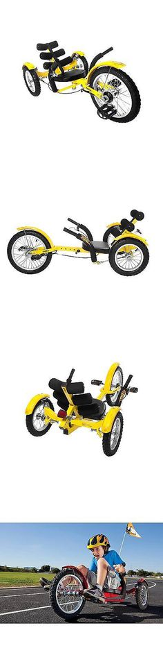 Other Cycling 2904: Mobo Youth Mobito 16 Three Wheeled Cruiser Tricycle - Yellow -> BUY IT NOW ONLY: $249.99 on eBay!