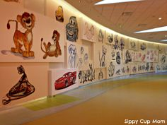 Art of Animation Lobby