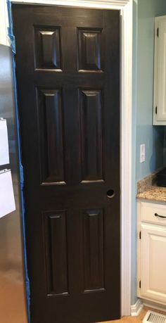 Pantry Door Redo: Staining Made Easy with Java Gel Stain
