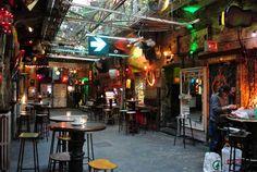 Szimpla Kert - the original Ruin Bar Budapest, Times Square, Bar, The Originals