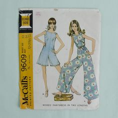Call me a hippi but id wear it i love this!!!!!!                  1960's Sewing Pattern $3