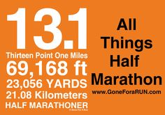 Check out Gone For a RUN for everything half marathon! From cell phone cases to medal displays, we have it all!