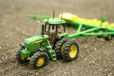 Spring Time On The Model Farm - Time For Spring - The Toy Tractor Times Online Magazine