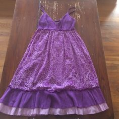 Purple/Lilac sun dress. Super cute! Purple/Lilac sundress. Super cute for spring summer. Worn once. Spaghetti straps that adjust. Size Small. SO Dresses