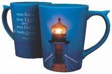 Mug-Send Forth Light (Lighthouse)