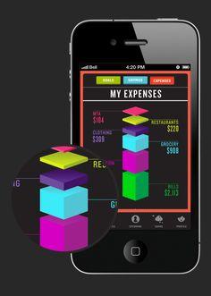 Vice iPhone App by Marina Sidorko, via Behance