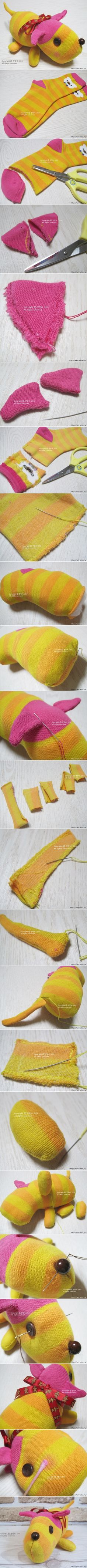sock puppy tutorials