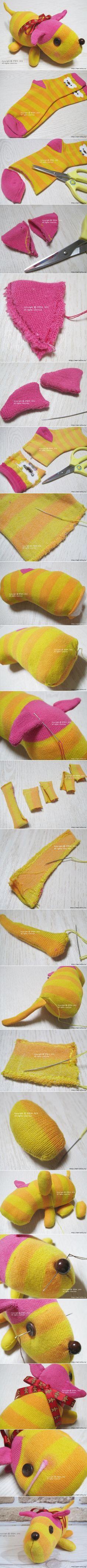 sock puppy tutorials