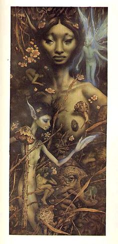 SCARCE Alan Lee / Brian Froud 1978 1st Ed `Faeries' w/ DJ - Art / Fantasy / Mythology / Legends / Vintage