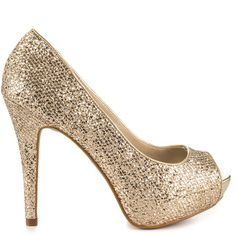 Shoes for NYE Nean - Metallic Misc by Aldo