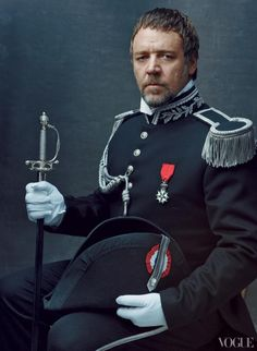 Russell Crowe by Annie Leibovitz