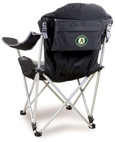 Picnic Time Oakland Athletics Reclining Camp Chair #campingchairs