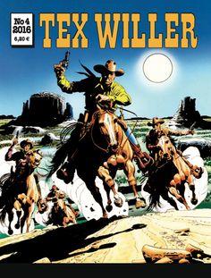 Lehtipisteissä 31.3.2016! #TexWiller #western #sarjis #sarjakuva