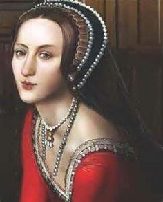 Anne Boleyn, Date Unknown, however this looks like a modern adaptation of one of her portraits.