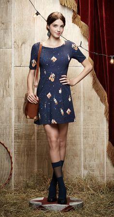 Vestido A Noite do Espetáculo   Carola e sua Cartola   Antix Store
