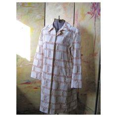 Vintage Rain Coat  Dancing In The Rain by HomeIdaho on Etsy, $28.00