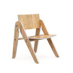 Kinder-Stuhl Lilly's Chair von We Do Wood aus Dänemark. Nachhaltiges Design - Møbla