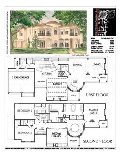 Two Story Home Plan House for Jake Floyd. Sims House Plans, House Plans One Story, Two Story Homes, Dream House Plans, Story House, House Floor Plans, The Plan, How To Plan, Floor Plan 4 Bedroom