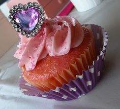 Jewel Party - cupcakes with jewel rings for stand..maybe with ringpops!