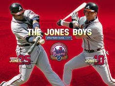 The Jones Boys - Atlanta Braves