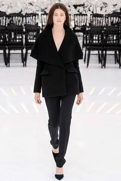 This coat. I die for.  Christian Dior Fall 2014 Couture Collection Slideshow on Style.com
