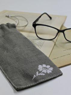 Cross stitch glasses case