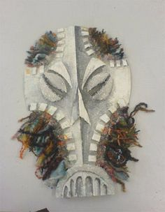 Art Tutorials and Lessons - Art Projects: Mask Making