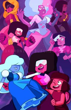 My name's Lydia ♊️, bisexual, she/her) and I make Steven Universe gifs (and the. Universe Love, Universe Art, Sapphire Steven Universe, Steven Universe Personajes, Chibi, It Goes On, Anime, Cartoon Network, Crossover