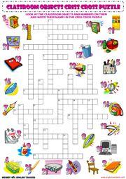 Criss Cross Puzzle | Crucigramas | Pinterest