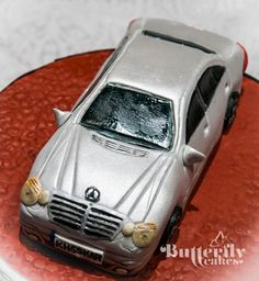 Mercedes Benz Car Cake Tutorial - CakesDecor