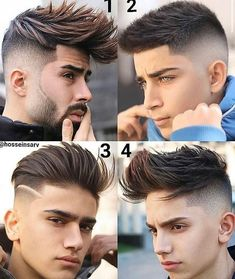 "Men's Hairstyles® on Instagram: ""Which one?  All Credits to respective owner🖤"" Hairstyles Haircuts, Barber Hairstyles, How To Draw Hair, Barber Shop, Hair Goals, Gq, Male Models, Hair Cuts, Hair Color"