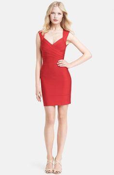 My Dream dress- Herve Leger open back bandage dress at Nordstrom