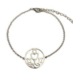 New Beginnings Silver Bracelet - Paybackgift Stainless Steel Chain, New Chapter, New Beginnings, Pendant Necklace, Diamond, Bracelets, Silver, Chakra, Chakras