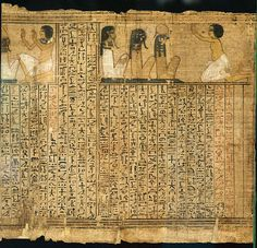 Book of the dead of Kenna (RMO Leiden, Thebe 1325bc 18d) by koopmanrob, via Flickr