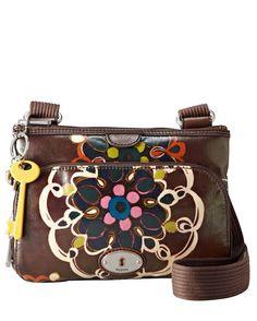 Key-Per Cross-Body Bag - Doodles