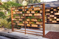 diy garden screen