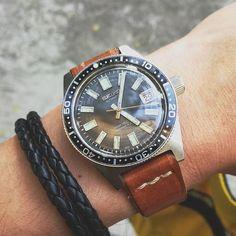 REPOST!!!  A nice Saturday afternoon  #seikodiver #vintagediverwatch #seiko6217 #watchaddict #watchuseek #hodinkee #wristshot  repost | credit: ID @christsuikl (Instagram)