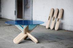 móveis de madeira para o lar moderno