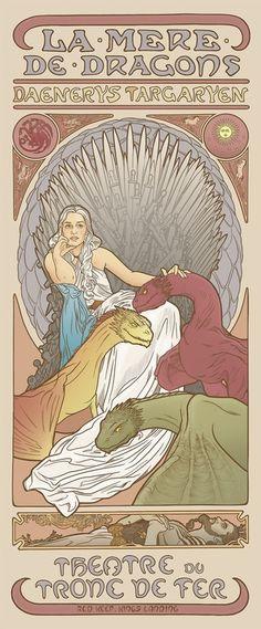 Geek Art Gallery: Posters: Women of Game of Thrones