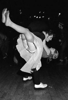 GB. England. London. Lyceum Ballroom[The Teds]  by Chris Steele-Perkins c.1976