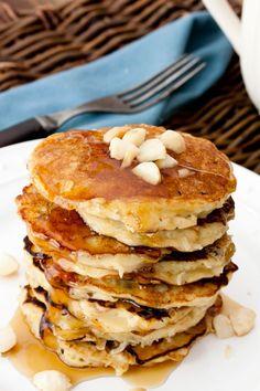 Vanilla Garlic: Coconut Macadamia Macaroon Pancakes