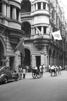 Hong Kong, street scene - AGSL Digital Photo Archive - Asia and Middle East - UWM Libraries Digital Collections History Of Hong Kong, Highlights, Photo Archive, Asia, Street View, Scene, Pictures, Middle East, Photos