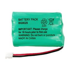 Fenzer Rechargeable Cordless Phone Battery for Energizer ER-P510 ERP510 Cordless Telephone Battery Replacement Pack