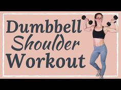Tone flabby arms with this upper body dumbbell workout routine. This arm workout with weights is the best way to build boulder shoulders at home. Dumbbell Workout Routine, Upper Body Dumbbell Workout, Upper Body Workout Routine, Flat Abs Workout, Arm Workouts At Home, Body Workouts, Love Handle Workout, Fitness Workout For Women, Aerobic Fitness