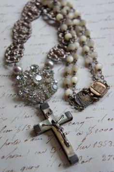 Sweet LourdesVintage rosary beads