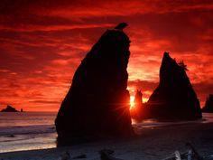 Pôr do sol - Papel de Parede Grátis para PC: http://wallpapic-br.com/paisagens/por-do-sol/wallpaper-39328