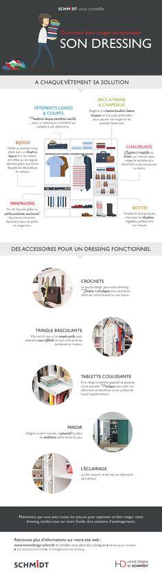 Comment ranger son Dressing : Astuces & Accessoires | Blog SCHMIDT Schmidt, Sons, House Design, Blog, Aide, Instagram, Jewelry Drawer, Shoe Shelve, Closet Rod