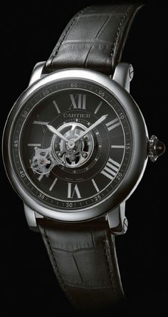 Cartier Astrotourbillon Carbon Crystal