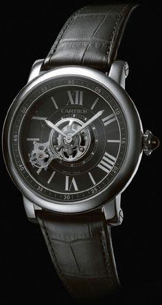 Cartier Astrotourbillon Carbon Crystal