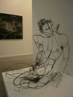 David Oliveira (wire sculpture).